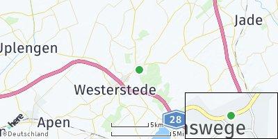 Google Map of Linswege