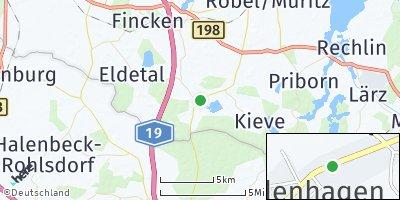 Google Map of Wredenhagen