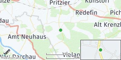 Google Map of Lübtheen