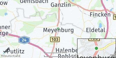 Google Map of Meyenburg