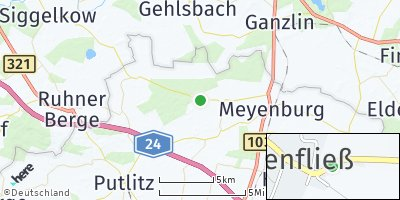 Google Map of Marienfließ