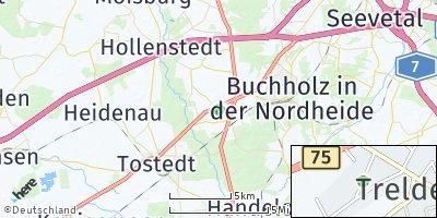 Google Map of Trelde