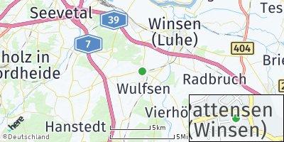 Google Map of Pattensen bei Winsen