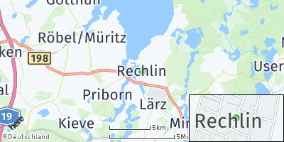 Google Map of Rechlin