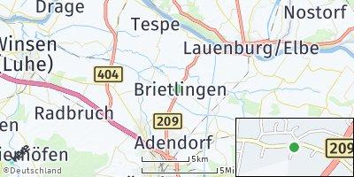 Google Map of Brietlingen