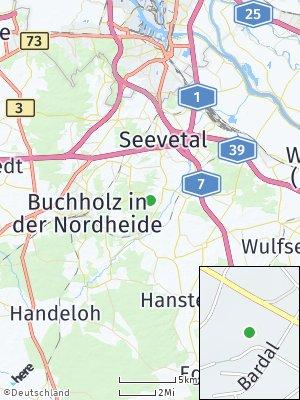 Here Map of Bendestorf
