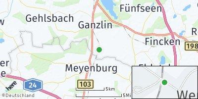 Google Map of Wendisch Priborn