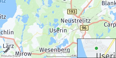 Google Map of Userin