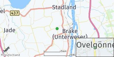 Google Map of Ovelgönne