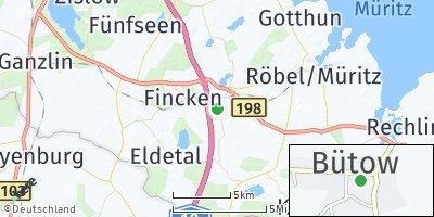 Google Map of Bütow