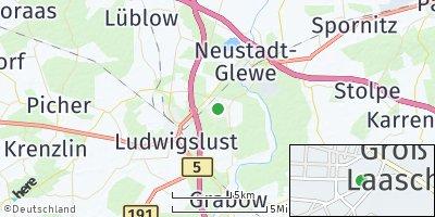 Google Map of Groß Laasch