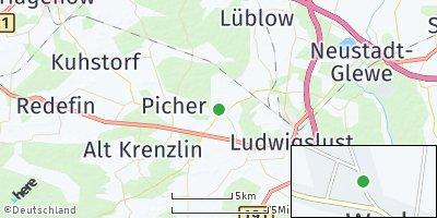 Google Map of Warlow