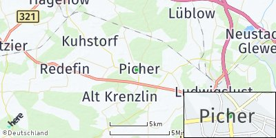 Google Map of Picher