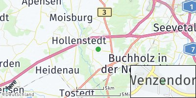 Google Map of Wenzendorf