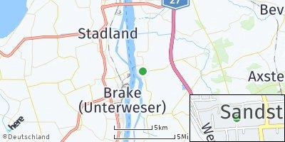 Google Map of Sandstedt