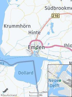 Here Map of Emden