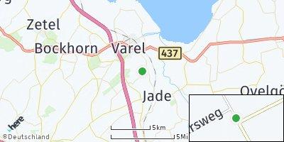 Google Map of Jethausermoor