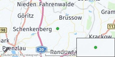 Google Map of Carmzow-Wallmow