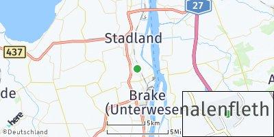 Google Map of Schmalenfleth