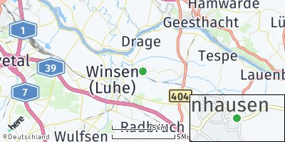 Google Map of Tönnhausen