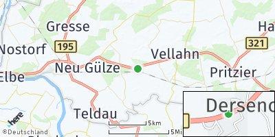 Google Map of Dersenow