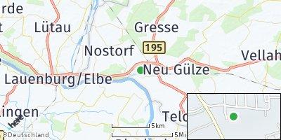 Google Map of Boizenburg / Elbe