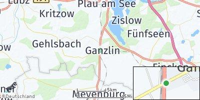 Google Map of Ganzlin