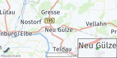 Google Map of Neu Gülze