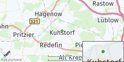 Google Map of Kuhstorf