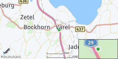 Google Map of Varel