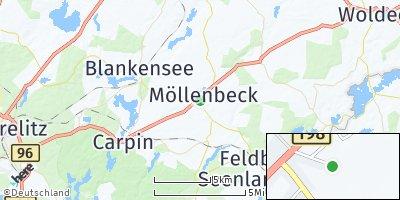 Google Map of Möllenbeck
