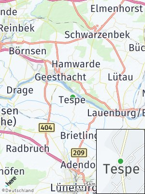 Here Map of Tespe