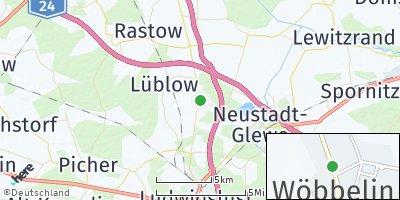 Google Map of Wöbbelin
