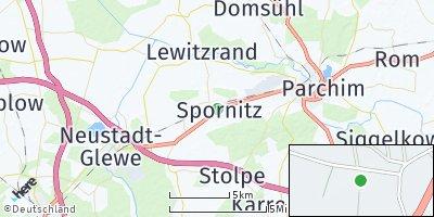 Google Map of Spornitz