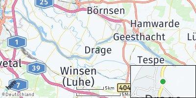 Google Map of Drage