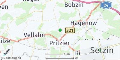 Google Map of Setzin
