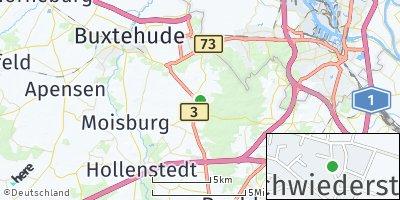 Google Map of Schwiederstorf