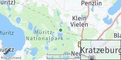Google Map of Kratzeburg