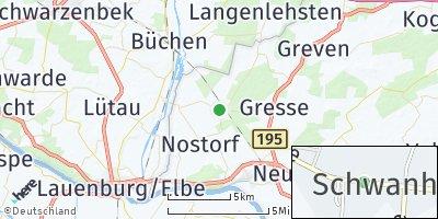 Google Map of Schwanheide