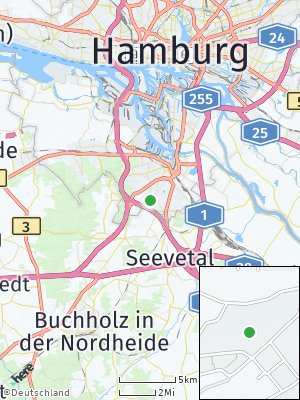 Here Map of Marmstorf