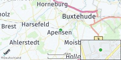 Google Map of Apensen
