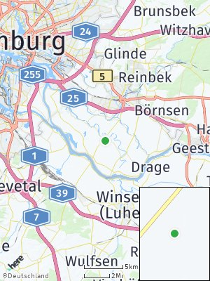 Here Map of Kirchwerder