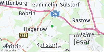 Google Map of Kirch Jesar