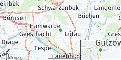 Google Map of Gülzow