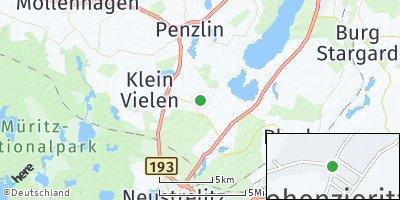 Google Map of Hohenzieritz