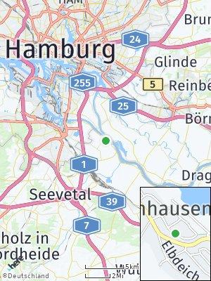 Here Map of Bullenhausen