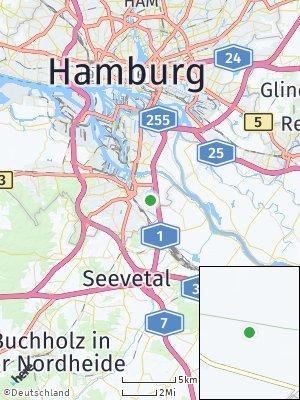 Here Map of Gut Moor