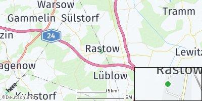 Google Map of Rastow