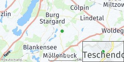 Google Map of Teschendorf
