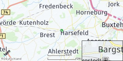 Google Map of Bargstedt